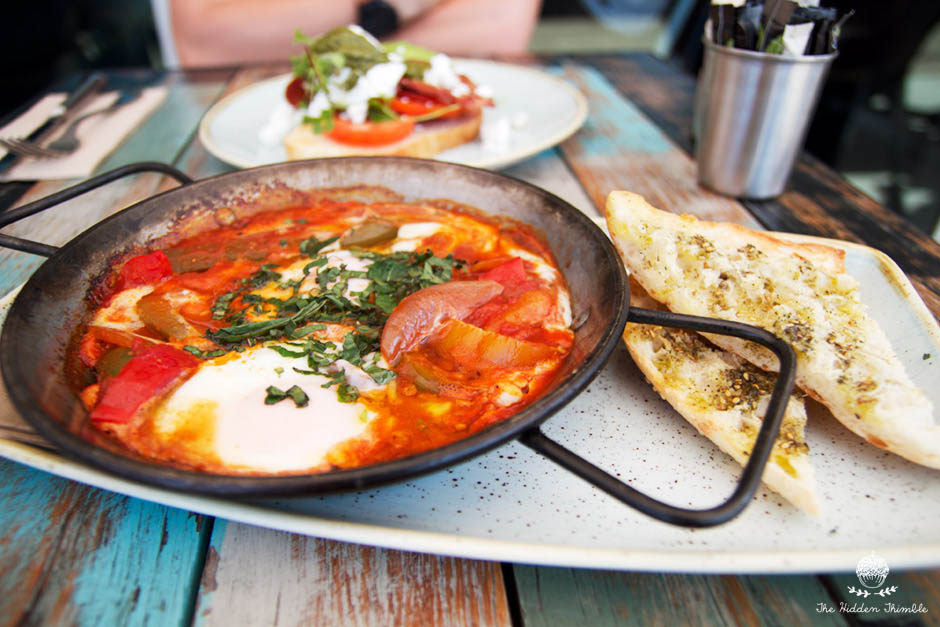 Baked Eggs Shakshuka | The Pool Cafe Maroubra